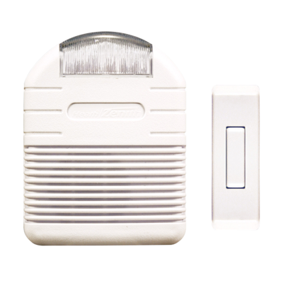 Wireless Doorbell Strobe Light Kit Heathzenith