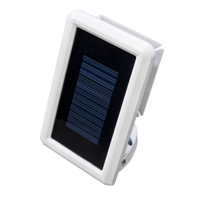 solar led motion activated security light with power. Black Bedroom Furniture Sets. Home Design Ideas